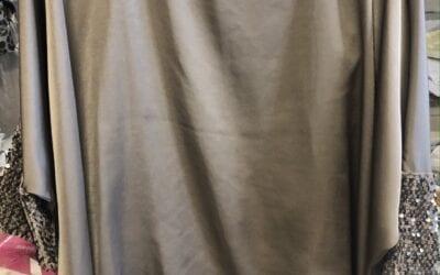 zenia sequin green top