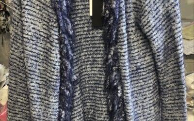 Zenia blue cardigan