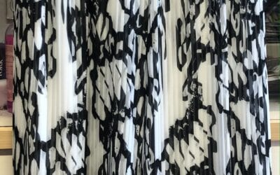 Michaela Louisa Black And White Palazzo Pants