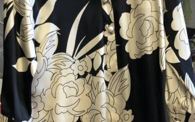 Michaela Louisa Black and Cream Tunic