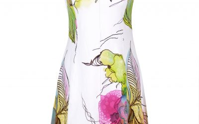 Christiane Piolain dress